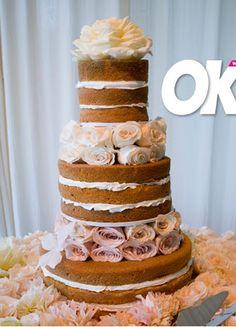 Hilary Duff Wedding cake sans icing