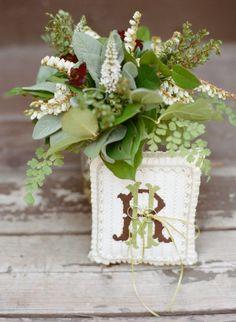35 Pretty Monograms & Initials Wedding Ideas for Your Big Day Wedding Initials, Monogram Wedding, Monogram Initials, Flower Decorations, Wedding Decorations, Green Wedding Centerpieces, Southern Weddings, Wedding Frames, Wedding Details