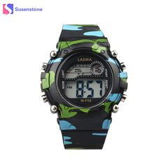 Children's Watches Special Section Sport Student Children Girls Analog Digital Sport Led Electronic Waterproof Wrist Watch New Boy Girl Gift Date Casual Watch A1 Convenience Goods