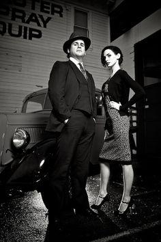 Laag standpunt! (foto niet favoriet, maar gaat om de hoek)  Film_Noir_2_by_Mahlon_Davis in Film Noir: 30 Impressive Portraits