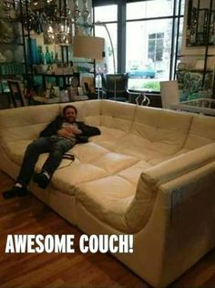 I need this couch in my life now!