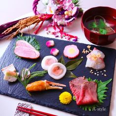 Japanese New Year, Japanese Food, Food Plating, Food Styling, Sushi, Clean Eating, Food And Drink, Lunch, Healthy Recipes