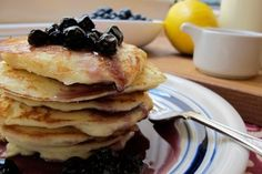 ... Morning! on Pinterest | Pancakes, French Toast and Blueberry Recipes