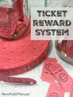Parenting tip: Use the Ticket Reward System to help your kids do the things they are suppose to (and pay for the things they aren't)!
