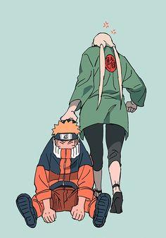 | Save & Follow | Naruto Uzumaki • Tsunade