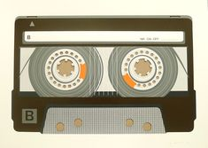Simon-Fitzmaurice-Compact-Cassette-Tape @ print club london