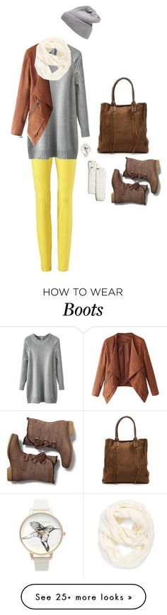 """""""Snow boots"""" by bondril on Polyvore featuring Echo, Olivia Burton, UGG Australia, Keds, women's clothing, women, female, woman, misses and juniors"""