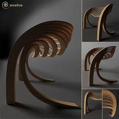 Evolve chair by Velichko Velikov
