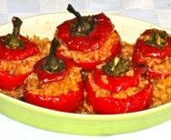 Stuffed Papacelle Peppers