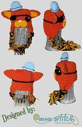 Ravelry: Pirate Kitty pattern by Awe Stitch  $3.99
