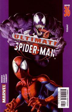 Ultimate Spider-Man (vol.1) #36 by Mark Bagley #Venom