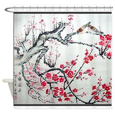 CafePress+–+Best+Seller+Asian+–+Decorative+Fabric+Shower+Curtain