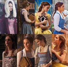 Beauty and the Beast 2017 Belle's Outfits