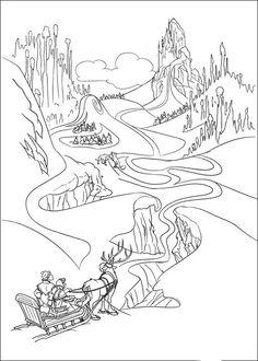 Tegninger til Farvelægning Frozen 18
