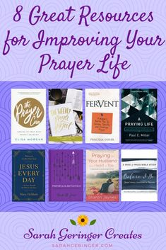 8 Great Resources for Improving Your Prayer Life Sarah Geringer is part of Prayers - Want to improve your prayer life These 8 resources are excellent tools to grow your relationship with God and fight spiritual battles through prayer Women Of Faith, Faith In God, Spiritual Warfare, Spiritual Growth, Spiritual Health, Spiritual Life, Importance Of Prayer, Christian Faith, Christian Living