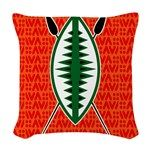 Shield and Spear Woven Throw Pillow $28.99 #cafepress #saytoons