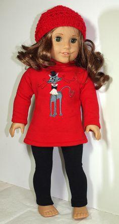 18 inch Doll  American Girl Doll Clothes  by AbygailElizabeth