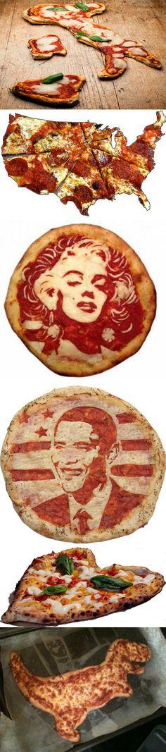 Pizza Art: Comida y Creatividad!