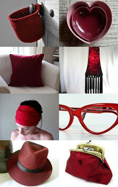 Deep Red  by vallescurahandmade on Etsy--Pinned with TreasuryPin.com