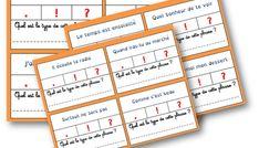 Cartes à tâches sur les types de phrases Bullet Journal, Noms, Classroom Management, Classroom, Grammar, Cards