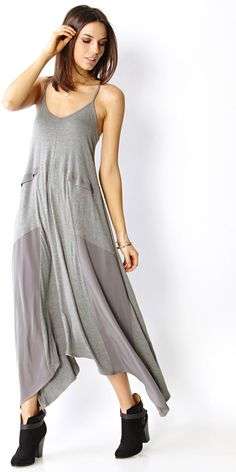 Forever 21 Paneled Maxi Dress on shopstyle.com