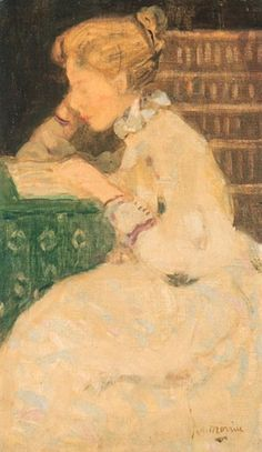 James Wilson Morrice, Girl Reading