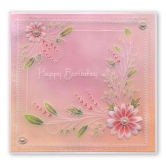 pergamano - Page 9 It's Your Birthday, Birthday Cards, Parchment Design, Parchment Cards, Butterfly Template, Silk Ribbon Embroidery, Pop Up Cards, Paper Cards, Hobbies And Crafts