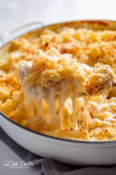 Creamy Garlic Parmesan Mac And Cheese