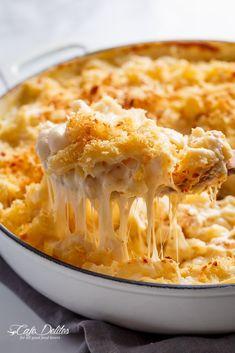 Creamy Garlic Parmesan Mac And Cheese