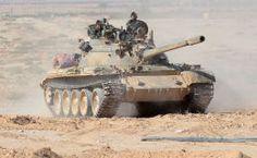 L'armée syrienne en position aux abords de Palmyre