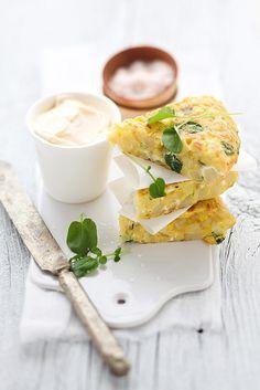 Potato, parsnip & watercress Spanish tortilla