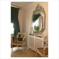 Decorative Mirrors For Living Room | ... Living Room On Gap Interiors Large  Decorative