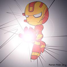 Iron Man Chibi by aerubikz22.deviantart.com on @deviantART