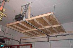 hanging garage shelves - Hanging Garage Storage