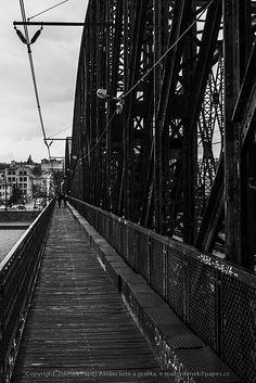 Prag Eisenbahnbrücke