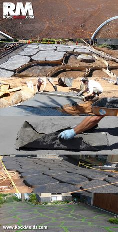Making a Paver Driveway http://rockmolds.com/driveway-pavers/