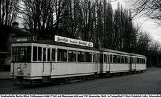 November 1965 Linie 15 in Tempelhof