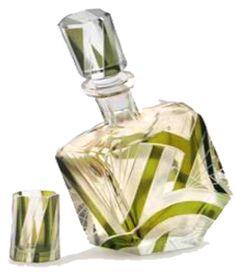 Art Deco Glass Decanter