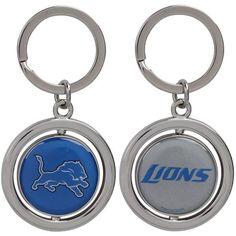 Detroit Lions Football Spinner Keychain