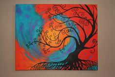 Whimsical Tree by ThePurpleManikin on Etsy, $200.00