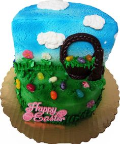 Easter cake by Mueller's Bakery!