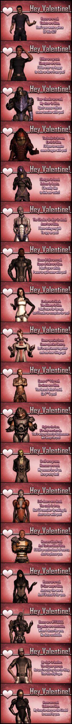 Hey Valentine by: Lordess-Alicia on deviantART
