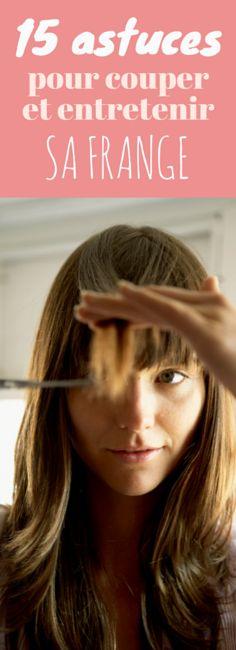 15 astuces pour couper et entretenir sa frange soi-même !