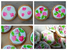 How to: painting cookies with royal icing