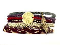 all the bracelets..