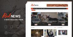 RedNews - WordPress News / Magazine Theme