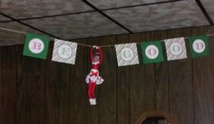 Easy Elf on the Shelf Hanging around Idea and 134 Simple Elf on the Shelf Ideas