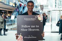 Follow me to Shoe Heaven! #StepInToTown