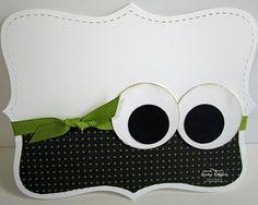 Halloween Eyeball Card
