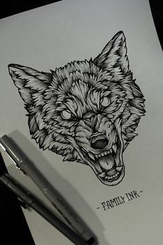 New line art tattoo wolf wolves 30 ideas Tribal Tattoos, Tribal Wolf Tattoo, Tattoos Skull, Head Tattoos, Wolf Tattoos, Trendy Tattoos, Body Art Tattoos, Sleeve Tattoos, Tattoos For Guys